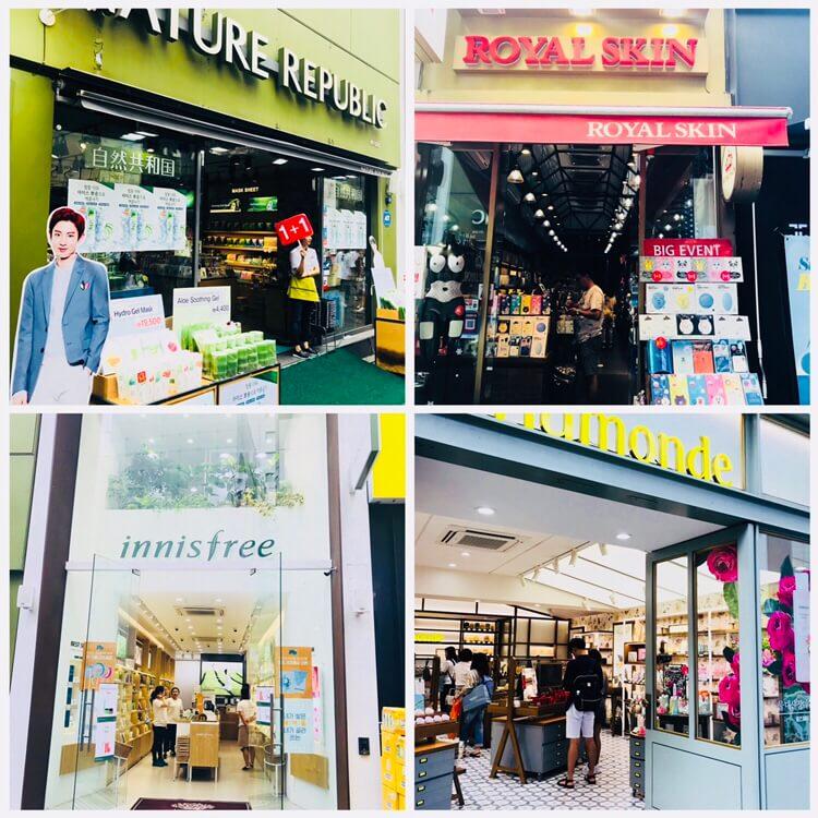 韓国コスメ路面店