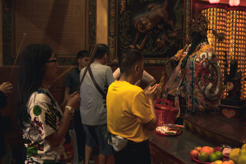 霞海城隍廟 参拝