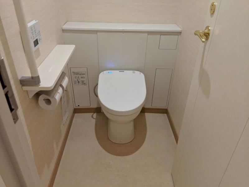 京王プラザホテル札幌 トイレ