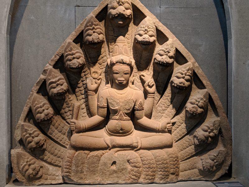 チャム彫刻博物館 ヴィシュヌ神
