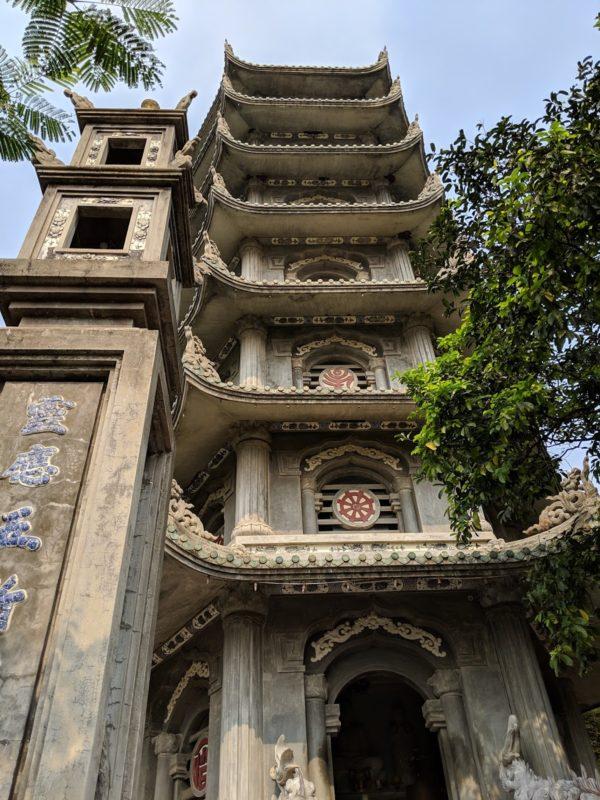 ダナン五行山 七重の塔