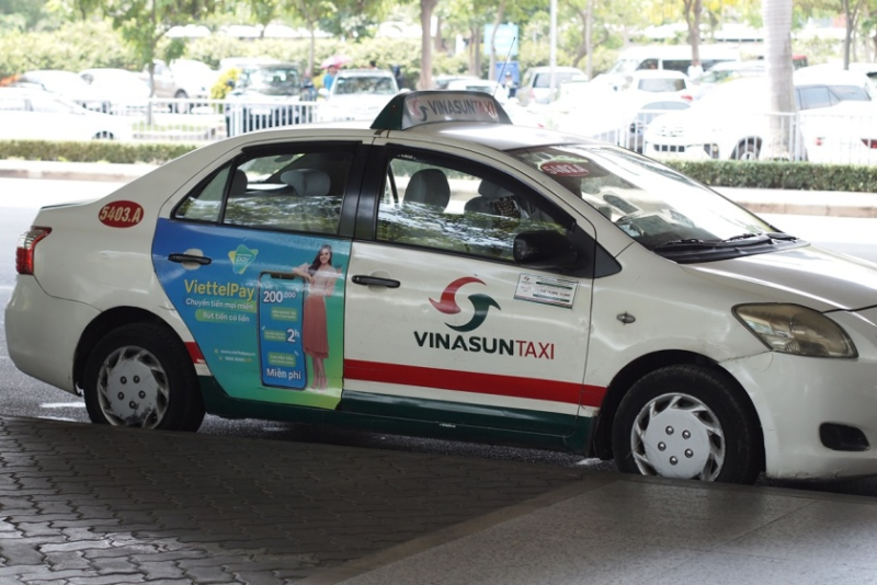 VINASAN(ビナサン)のタクシー