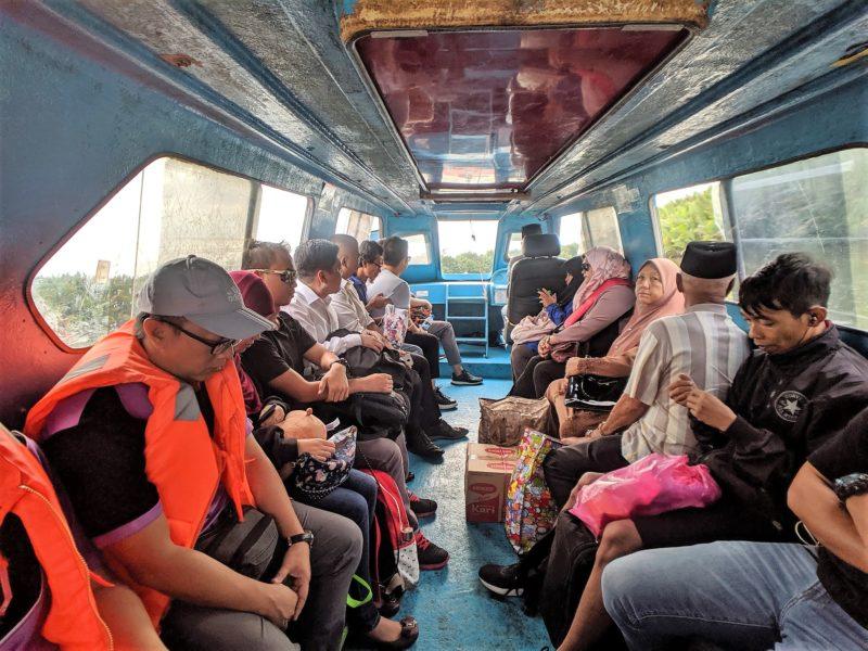 ブルネイ船上タクシー