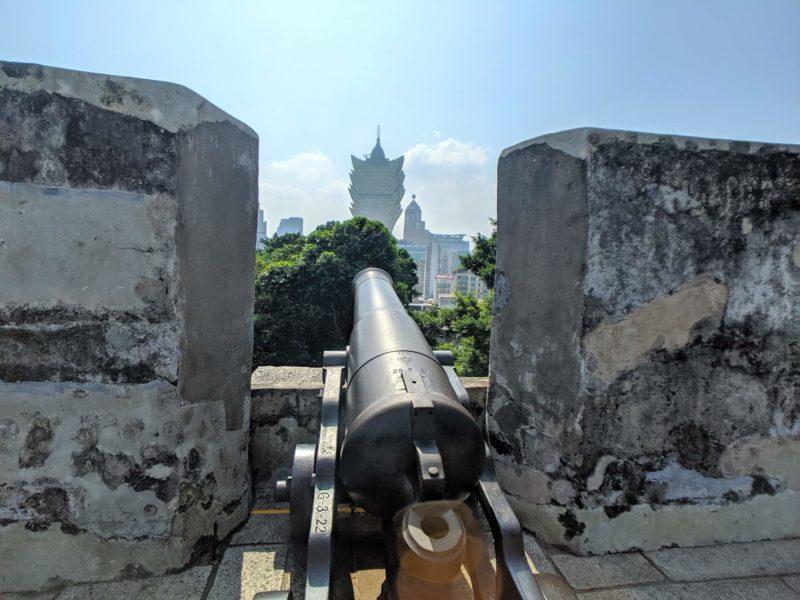 モンテの砦 大砲 リスボア